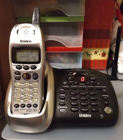 Telefon stacjonarny UNIDEN DCT6485-2 dwie słuchawki elegancki