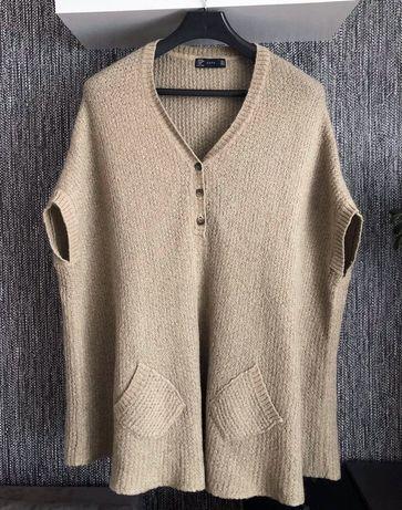 Sweter kamizelka ZARA