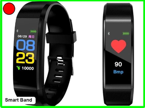 Zegarek Smart Band opaska sportowa smartwatch Pulsometr ,monitor snu