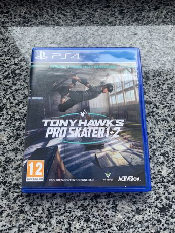 Tony Hawk 1+2 PS4