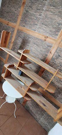 Półka drewniana stylowa