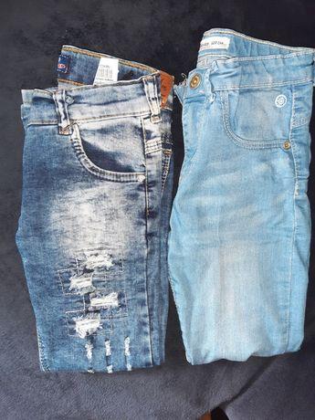 Spodnie 2 szt rozmiar 122