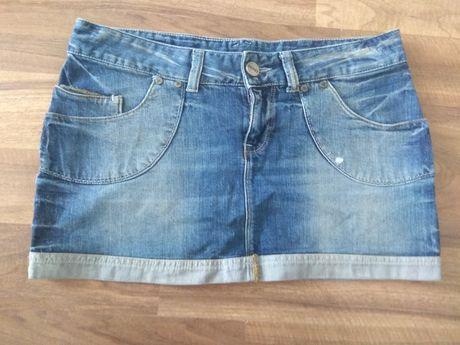 Spódniczka jeansowa Cross rozmiar L
