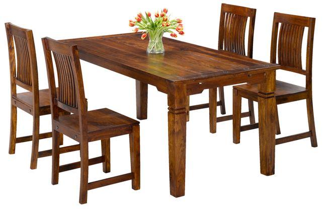 Federica Jysk nowy stół krzesła drewno sheesham darmowa wysyłka