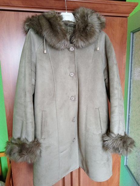 Płaszcz zimowy kurtka rozmiar 48
