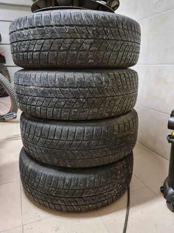 Koła, opony, felgi, komplet R15,Toyota, zimowe