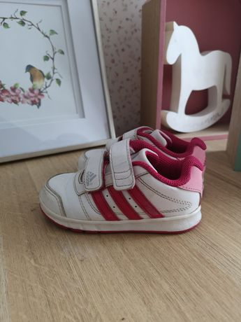 Adidasy rozm. 22 dziewczęcy buty adidas