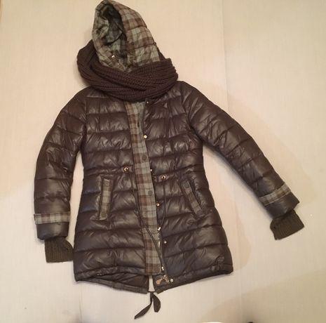 Пуховик Пальто Куртка 46 размер Л