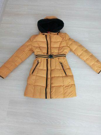 Зимний пуховик,  зимнее пальто, куртка...158 -164 см.