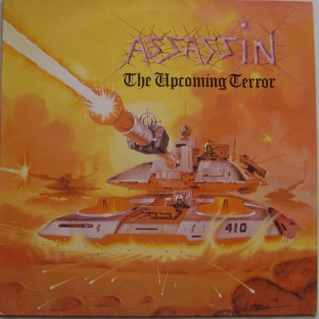 Assassin – The Upcoming Terror, Vinyl