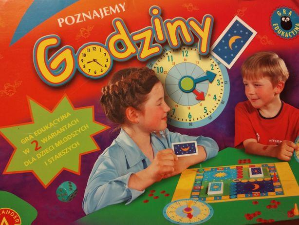 Gra edukacyjna Poznajemy godziny Alexander