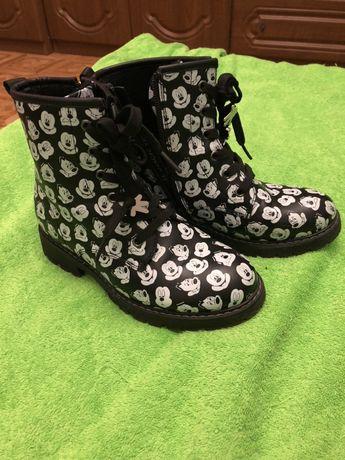 Ботинки демисезонные Mickey&Friends