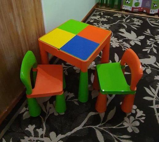 Столик и стульчики Tega Baby Mamut (Тега Беби Мамут), детям до 6 лет