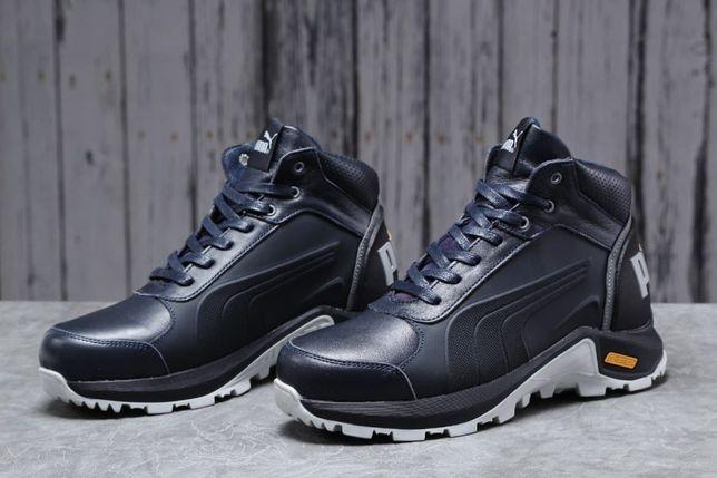 Зима, ботинки Puma 31671. Мужские Пума, натуральные, Обувь.