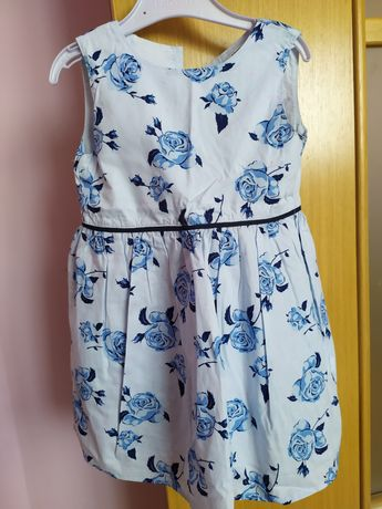 Sukienka bawełniana Sinsay
