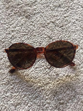 Oculos padrão tartaruga redondos