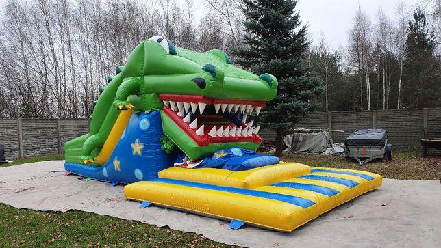 Urządzenie pneumatyczne Dmuchaniec połykacz krokodyl zjeżdżalnia