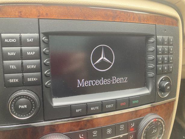Radio nawigacja dvd fabryczne Mercedes R-klasa W251