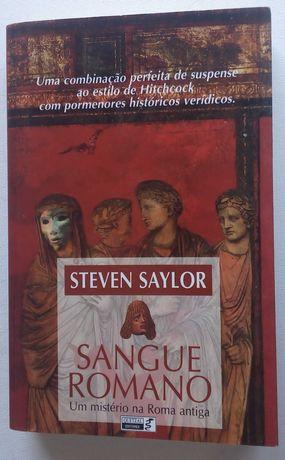 sangue romano um mistério na Roma antiga / steven saylor