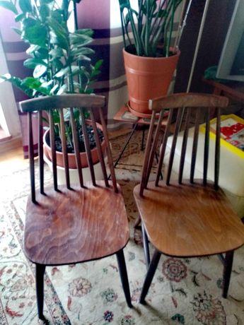 Krzesła patyczaki PRL Radomsko