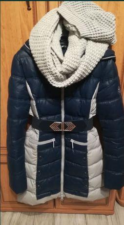 Kurtka zimowa, płaszcz zimowy, ocieplana.