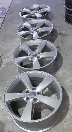 Alufelgi R18 rotor NOWY LAKIER 5x112 et30 8j audi vw 11.