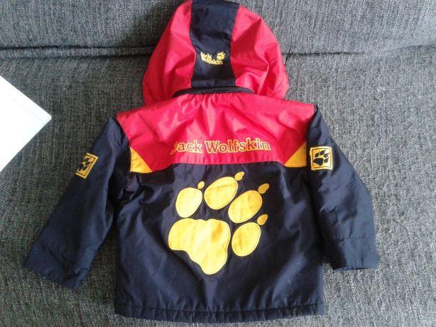 куртка Jack wolfckin децкая на 1-3 года