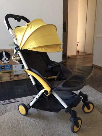 Прогулочная коляска Babyhit Amber Plus Yellow Black