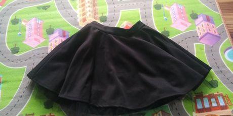 Spódnica czarna tiul