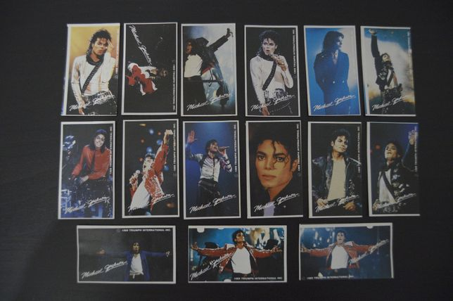 Cromos Michael Jackson 1989