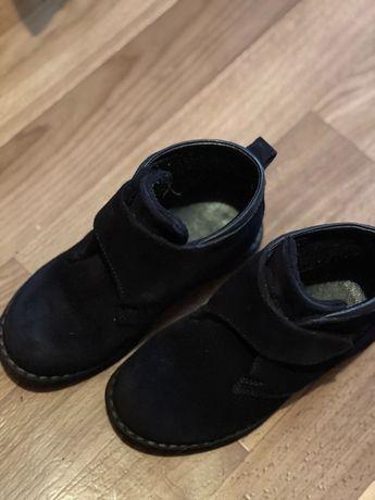 Стильные Ботинки замшевые кожаные осенние