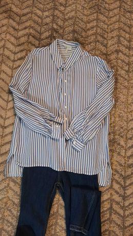Koszula z wiskozy Reserved 34