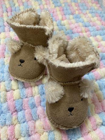 Сапожки обувь для новорожденных и грудничков