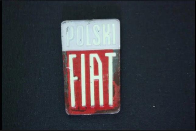 Znaczek, emblemat Fiat