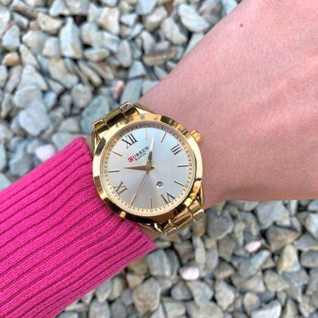 Часы женские 3 цвета Curren Blanche каррен с датой годинник жіночий