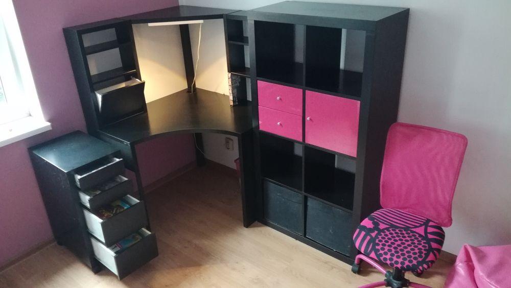Sprzedam zestaw mebli młodzieżowych Ikea + krzesełko Brodnica - image 1