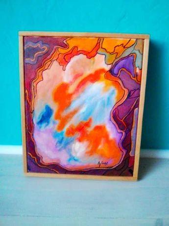 Obraz olejny na blejtramie 33x27 cm