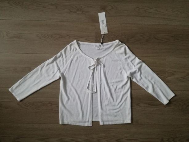 Solar nowy biały sweter sweterek S