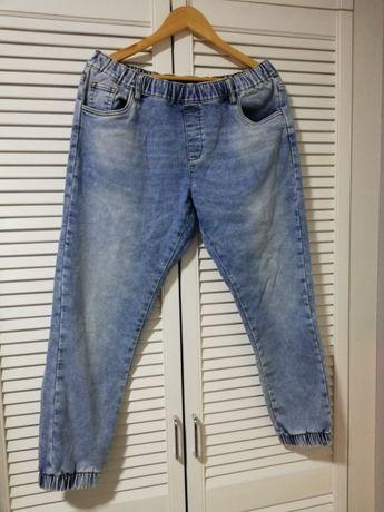 Spodnie, jeansy, boyfriendy w rozmiarze 40