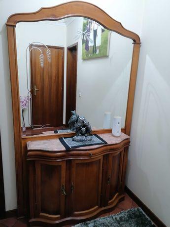 Sapateira com espelho - 2m x 1,60m