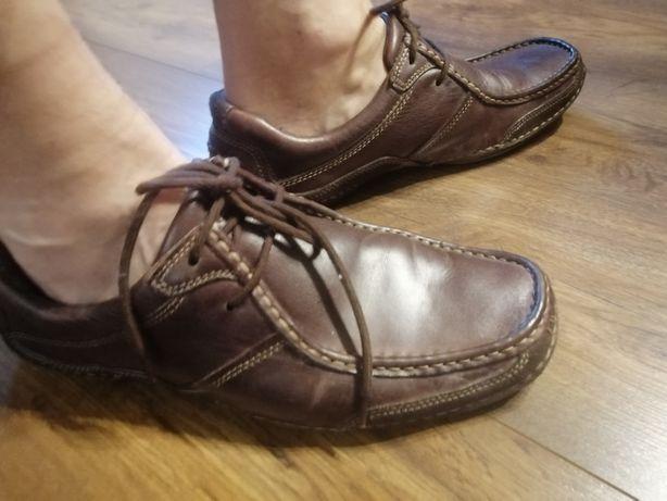 Buty męskie skórzane rozm 44