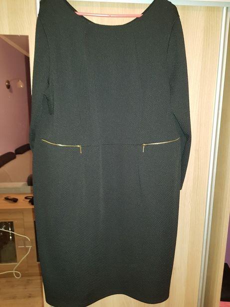 Sukienka czarna 52 xxl