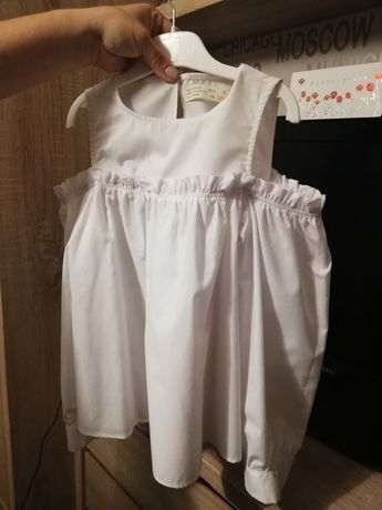 Biała bluzka Zara 134