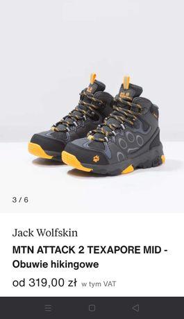 Chłopięce buty Jack Wolfskin rozm.29