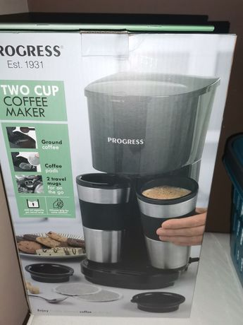 Ekspres do kawy Progres Two Caps