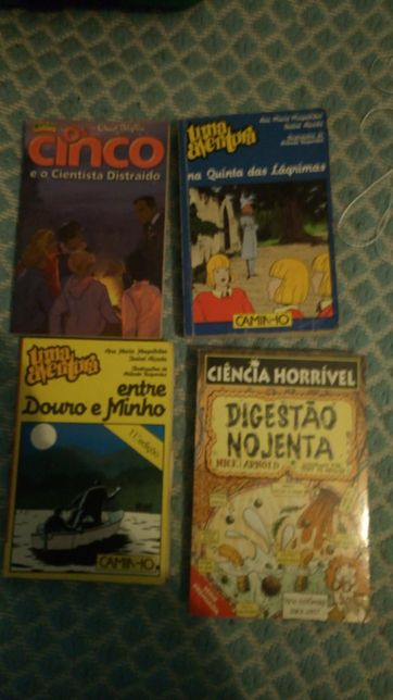 4 Livros de aventura