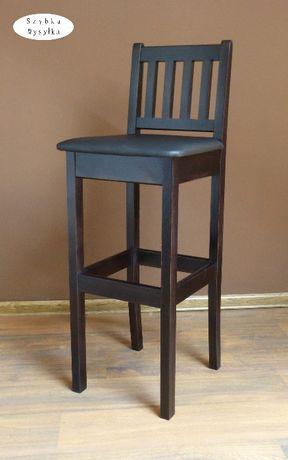 krzesło barowe hoker krzesła hokery drewniane do baru lokalu pub buk