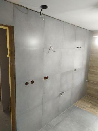 Remonty łazienek,mieszkań ,kafelkowanie,gładzie sufity podwieszane,k/g