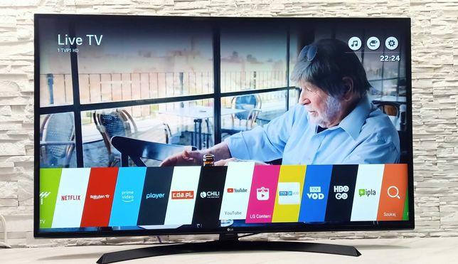 55 Cali Telewizor LG LED 4K HDR10 HLG SMART TV DVB-S2 DVB-T2 + Uchwyt+