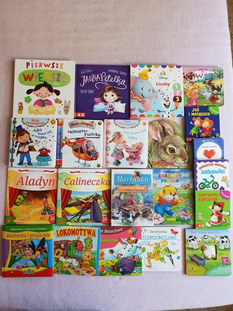 20 książeczek dla dziecka od 0 do 4lat plus masa gratis